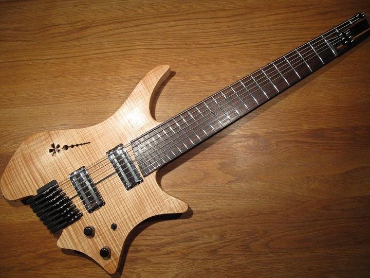 tosin abasi 39 s strandberg headless 8 string guitar guitars pinterest tosin abasi and guitar. Black Bedroom Furniture Sets. Home Design Ideas