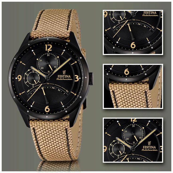 Reloj Festina hombre F16849/1 Multifunción