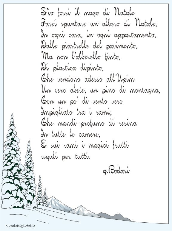 poesia Rodari