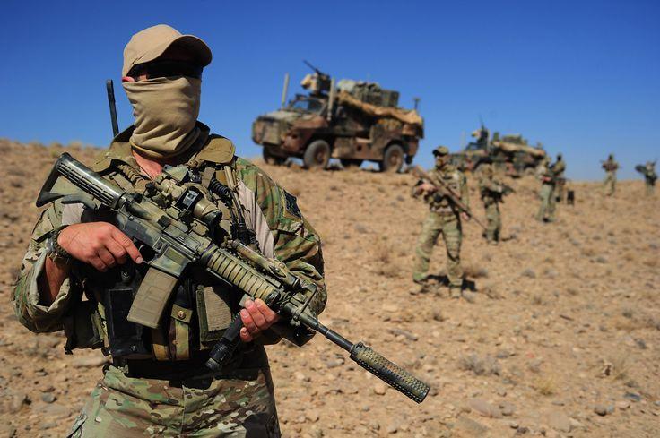 Australian patrol Afghanistan