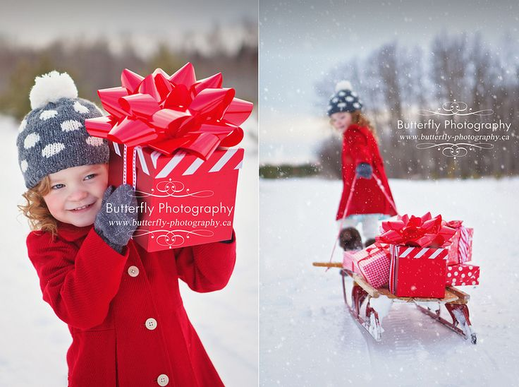 Снежные Ангелы и ворчливые подарки.... Butterfly photography by Kimberly Chorney.