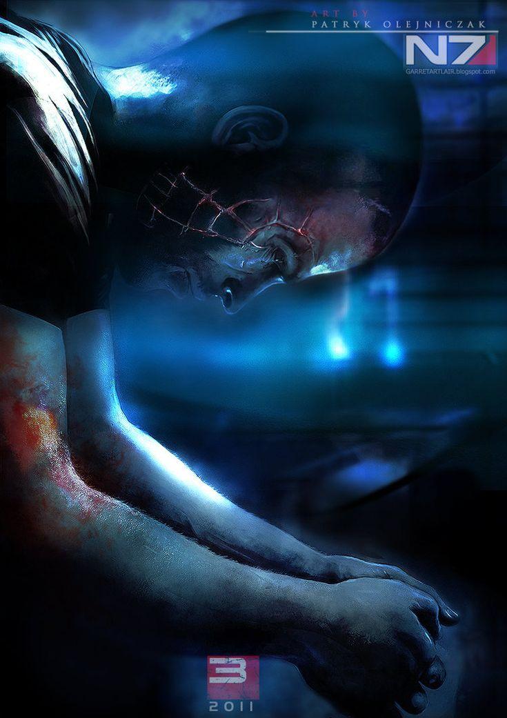 Mass Effect 3 - Shepard by patryk-garrett on deviantART