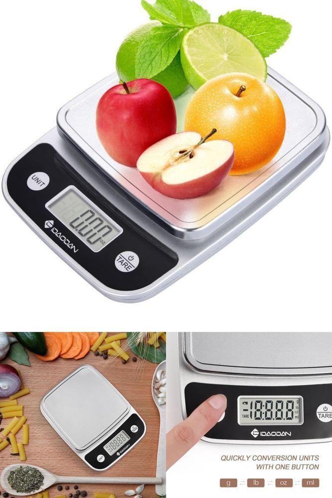 Digital Electronic Kitchen Food Diet Postal Scale Weight Balance Grams Units #IDAODAN