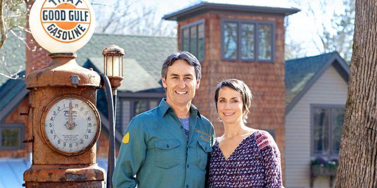 Mike and Jodi Wolfe's Backyard - American Pickers