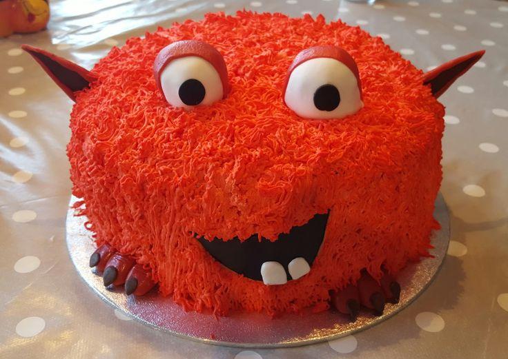 Malins tårtor: Söt monstertårta