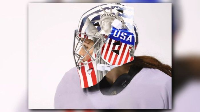ICYMI: US women's hockey goalies may have to remove Statue of Liberty image from masks - KING5.com
