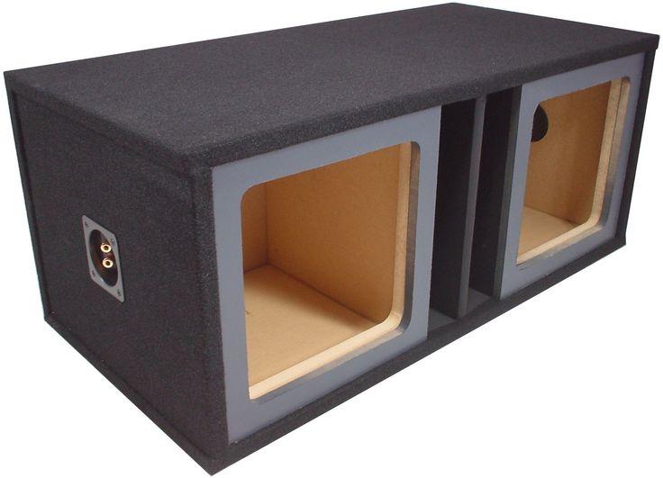 STAGE 3 DUAL SEALED SUBWOOFER MDF ENCLOSURE FOR JL AUDIO 10W3V3 SUB BOX