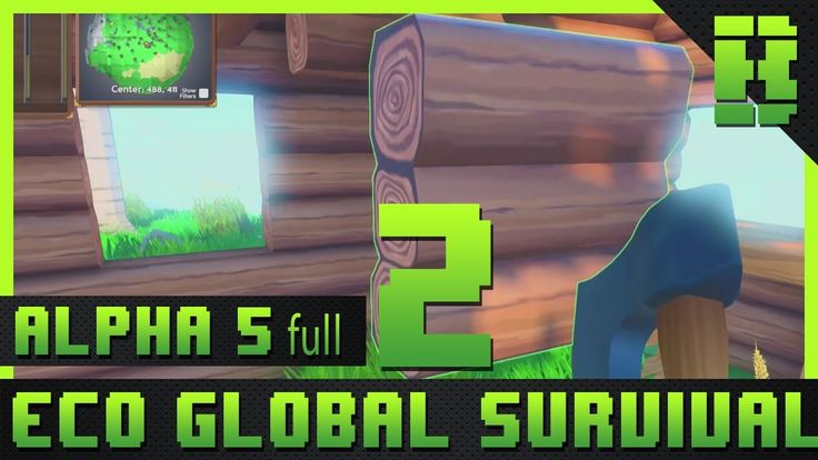 @Strangeloopgames #EGS #EcoGlobalSurvival #SurvivalGame  Eco Global Survival Gameplay where you must team-up to build civilization and prevent a disaster using resources from a fully simulated ecosystem where your every action affects the lives of countless species.   Will you and your fellow builders collaborate successfully creating laws to guide player actions finding a balance that takes from the ecosystem without damaging it? Or will the world be destroyed by short-sighted choices that…