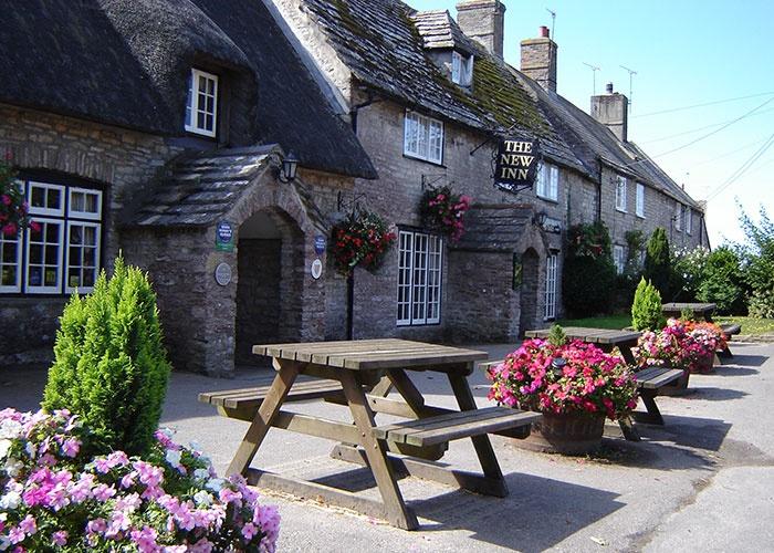 The New Inn, Church Knowle, Dorset