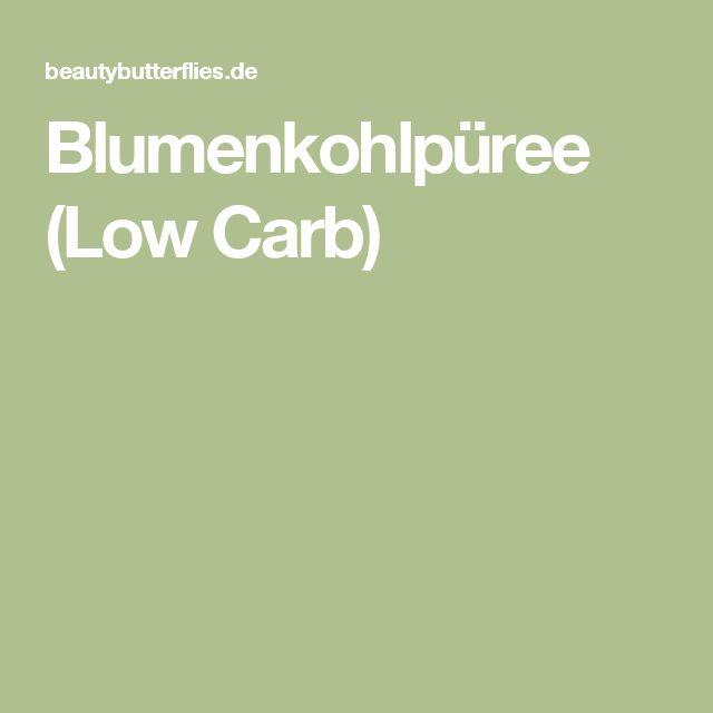 Blumenkohlpüree (Low Carb)