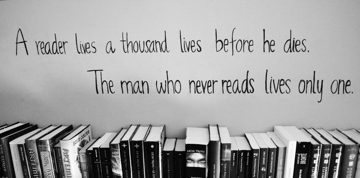 A reader lives a 1000 times before he dies. The man who never reads lives only one. G.R.R. MartinWorth Reading, Book Lovers, Reading Book, Book Sayings, The Reader, Reading Quotes, Art Room, Classroom Libraries, Reader Living