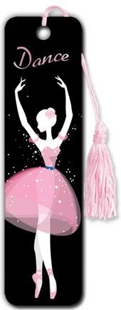 Dance - Tasseled Bookmarks