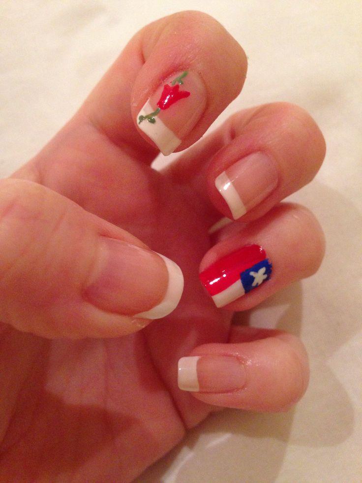 Chilean nails #dieciohco#unaschilenas