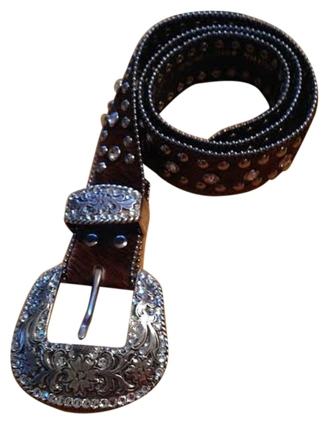NOCONA WESTERN Hair on HIde Belt - Rhinestone Cowgirl Belt. Get the lowest price on NOCONA WESTERN Hair on HIde Belt - Rhinestone Cowgirl Belt and other fabulous designer clothing and accessories! Shop Tradesy now