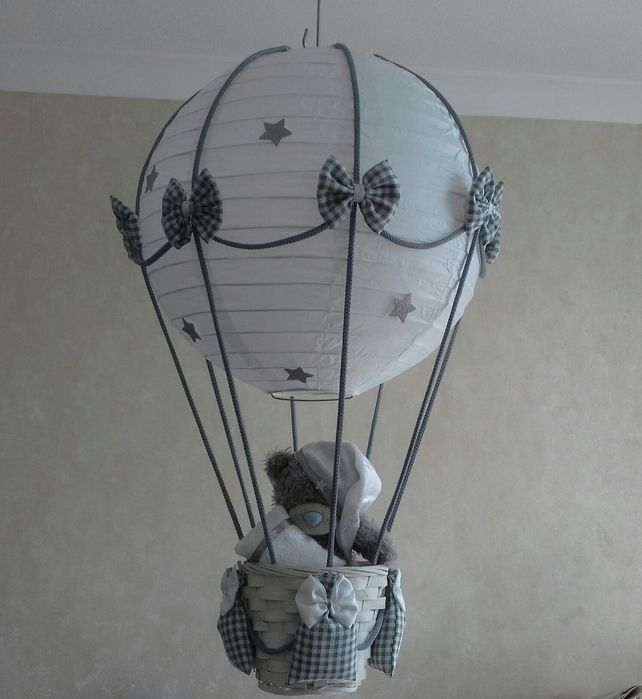 63 best hot air balloon lightlamp shade images on pinterest child hot air balloon nursery light shade 3500 aloadofball Images
