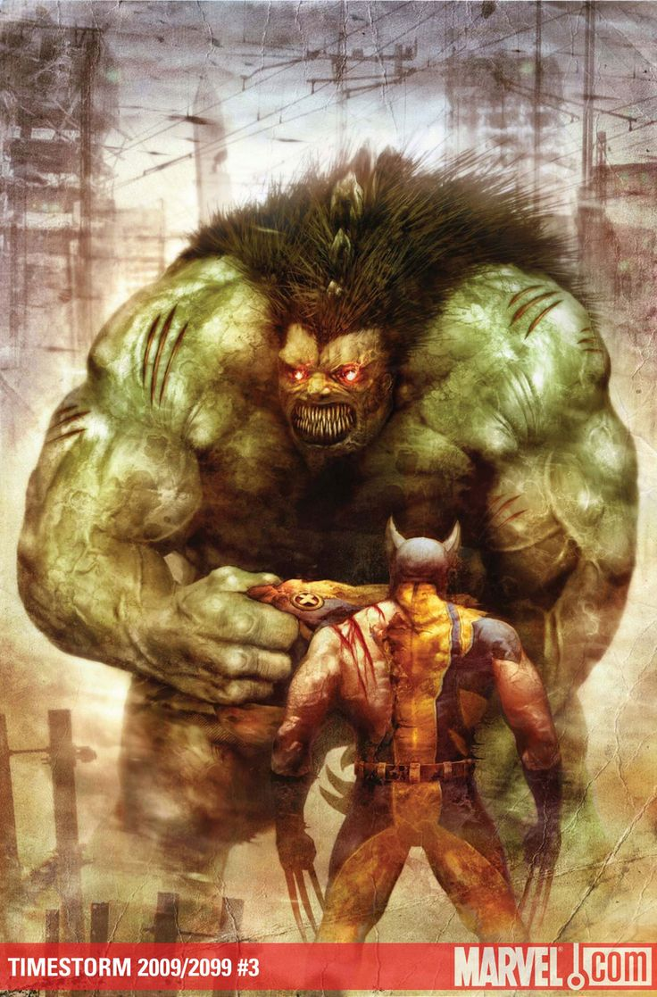hulked out wolverine - 736×1053
