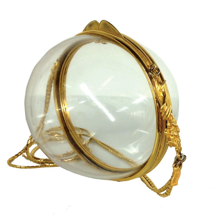Judith Leiber Lucite Egg Purse - who wears that?!