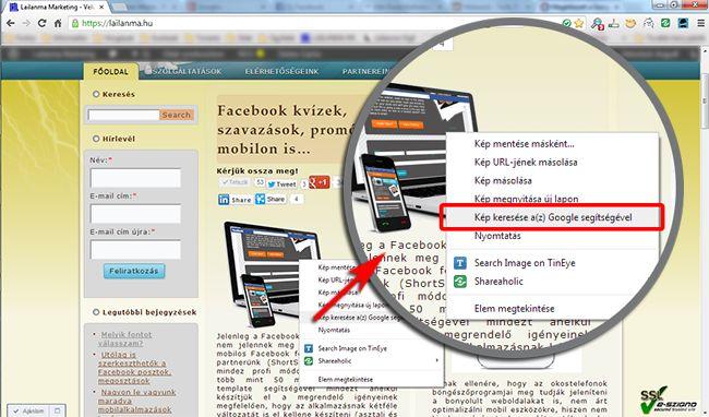 Új képkeresés a Chrome asztali verziójában - Lailanma Marketing