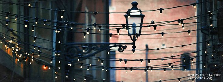 Pretty Street Lights Facebook Covers