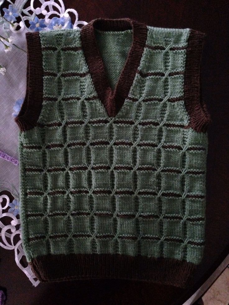 Toddler Boy Sweater Vest