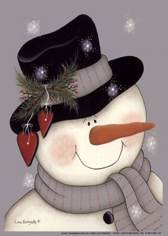 sneeuwpop schilderen voor kinderen - Google zoeken