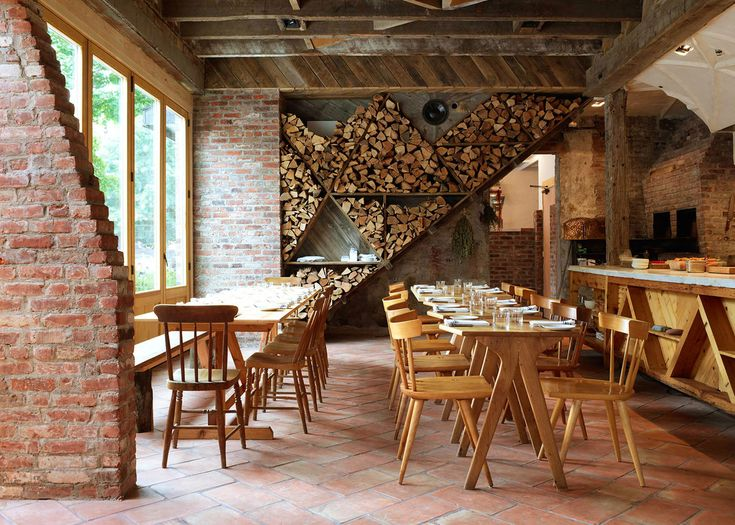 ISA Is A Hand Built Wood Fired Mediterranean Restaurant Located In Former