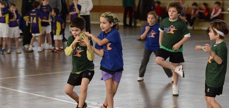 À l'École nantaise de handball, on partage le même apprentissage
