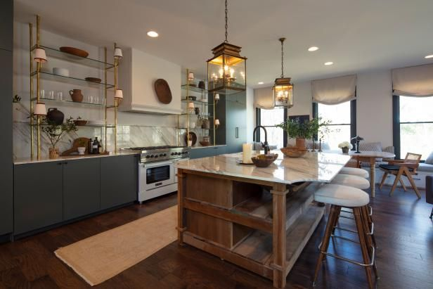 Nate Berkus And Jeremiah Brent S House Rock The Block Hgtv In 2021 Home Decor Kitchen Kitchen Design Nate And Jeremiah