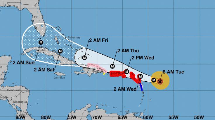 NPR News: Category 5 Hurricane Irma Brings 175-MPH Winds To Bear On Caribbean Islands