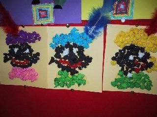 Zwarte Piet van propjes
