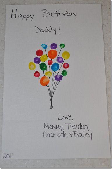 Birthday card idea for Daddy