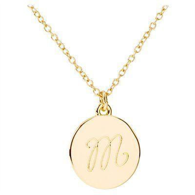Monogram Necklace by Indigo #IndigoStyle #MothersDay