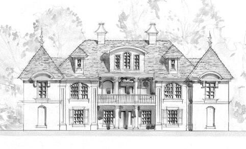Best 25 luxury home plans ideas on pinterest beautiful for Traditional neighborhood design house plans