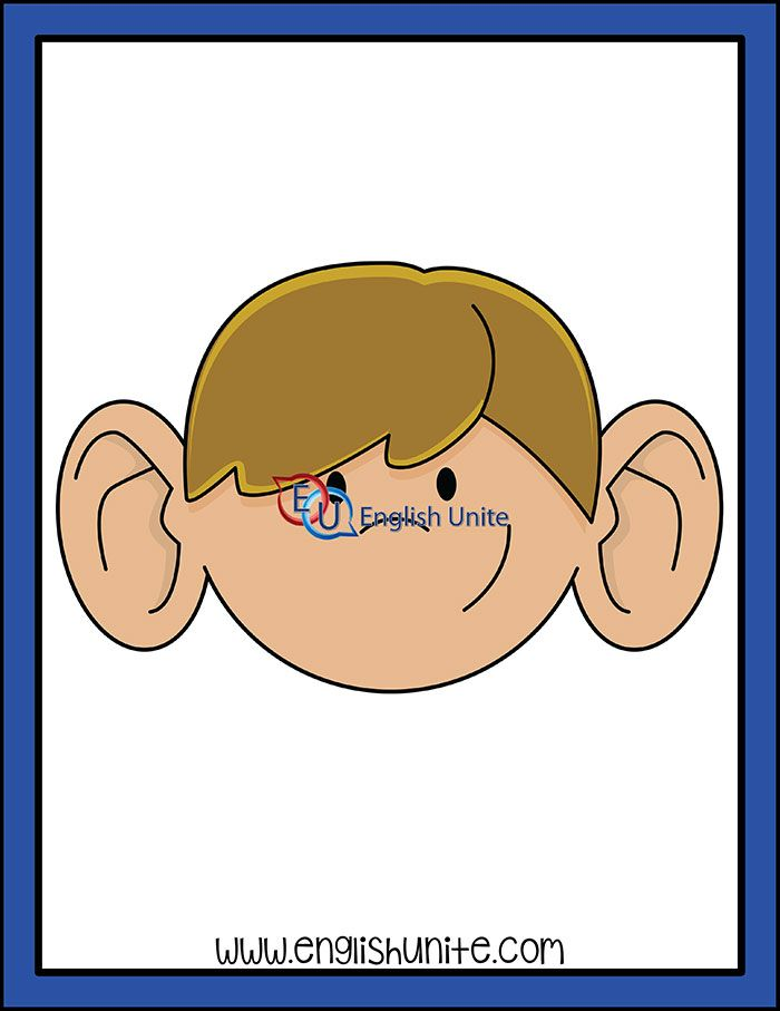 Idiom All Ears English Unite Clip Art Clipart Kids Black And White Images