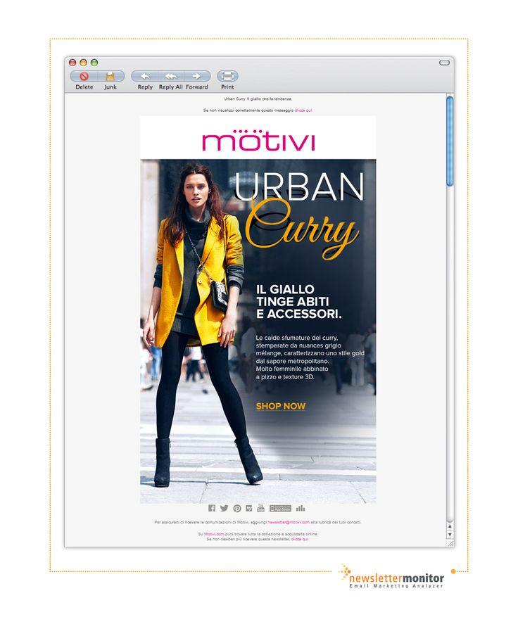 Brand: Motivi | Subject: Urban Curry. Il giallo che fa tendenza.