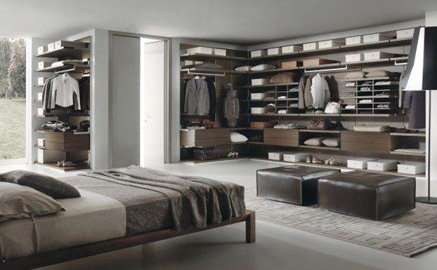 Le cabine armadio, ecco alcune idee! http://www.leonardo.tv/camera ...