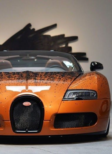 Bugatti Veyron... I think this is a little out of my price range. Actually, I know it is.