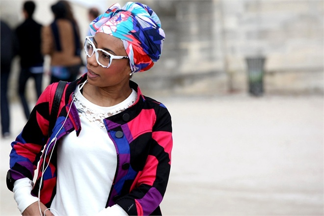 Foulard mania - Vogue.it