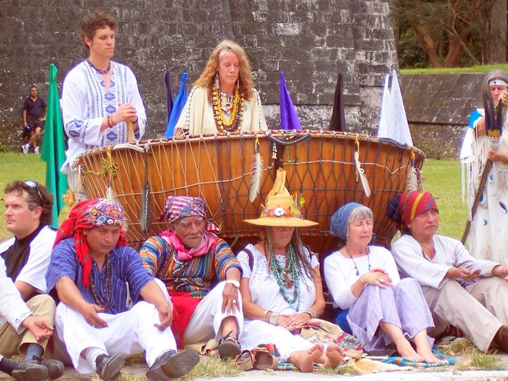 T ikal, guatemala with Grandmother Drum