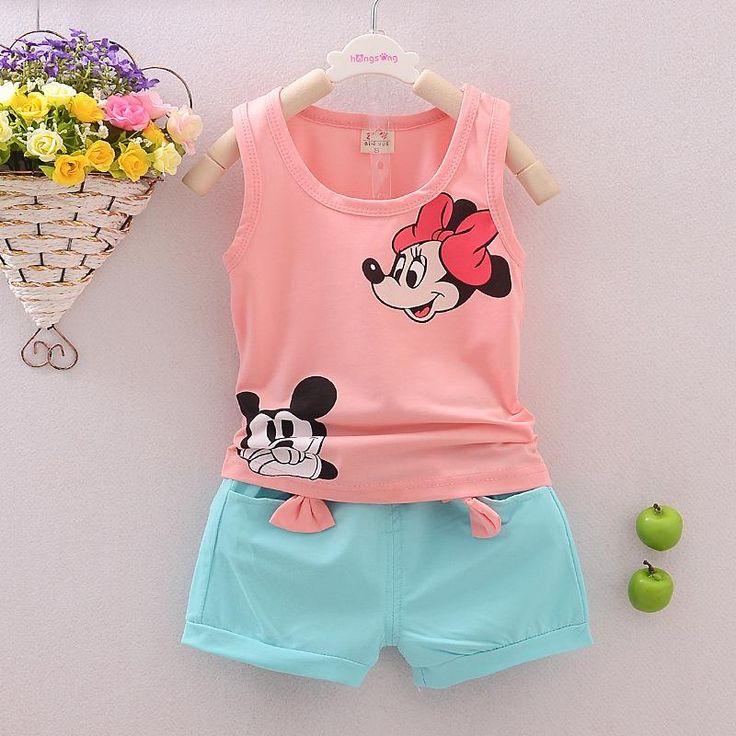 $7.76 (Buy here: https://alitems.com/g/1e8d114494ebda23ff8b16525dc3e8/?i=5&ulp=https%3A%2F%2Fwww.aliexpress.com%2Fitem%2F2017-girls-summer-cotton-sleeveless-vest-shorts-suit-children-cotton-baby-girl-in-Korean%2F32790655270.html ) 2017 girls summer cotton sleeveless vest shorts suit children cotton baby girl in Korean for just $7.76