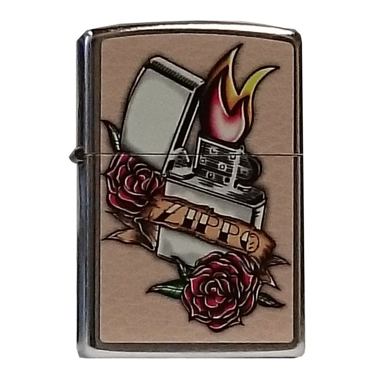World Map Zippo Lighter. Zippo Lighter  Tattoo with Roses Street Chrome Finish Includes the world famous Lifetime Guarantee 232 best zippo images on Pinterest lighter and Fire