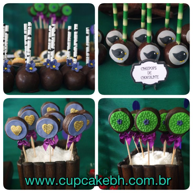 Cake Pop Malevola Cakepop maleficent