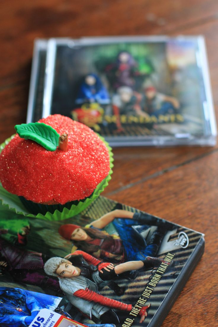 Not So Rotten To The Core Cupcakes Recipe Disney