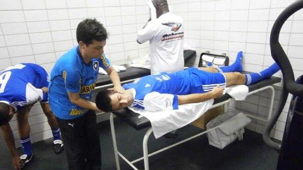 Djokovic Botafogo (Foto: Arquivo Pessoal)