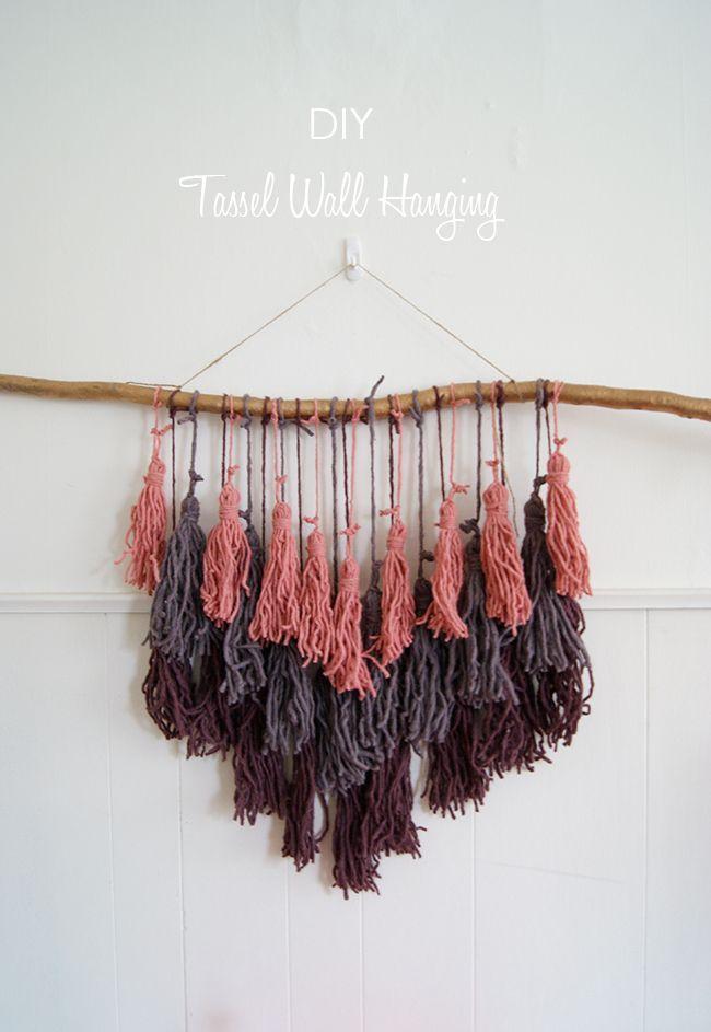 Best 25+ Yarn wall hanging ideas on Pinterest
