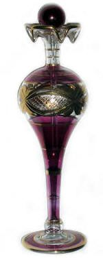Egyptian Blown Glass Perfume Bottles:  The Gatsby