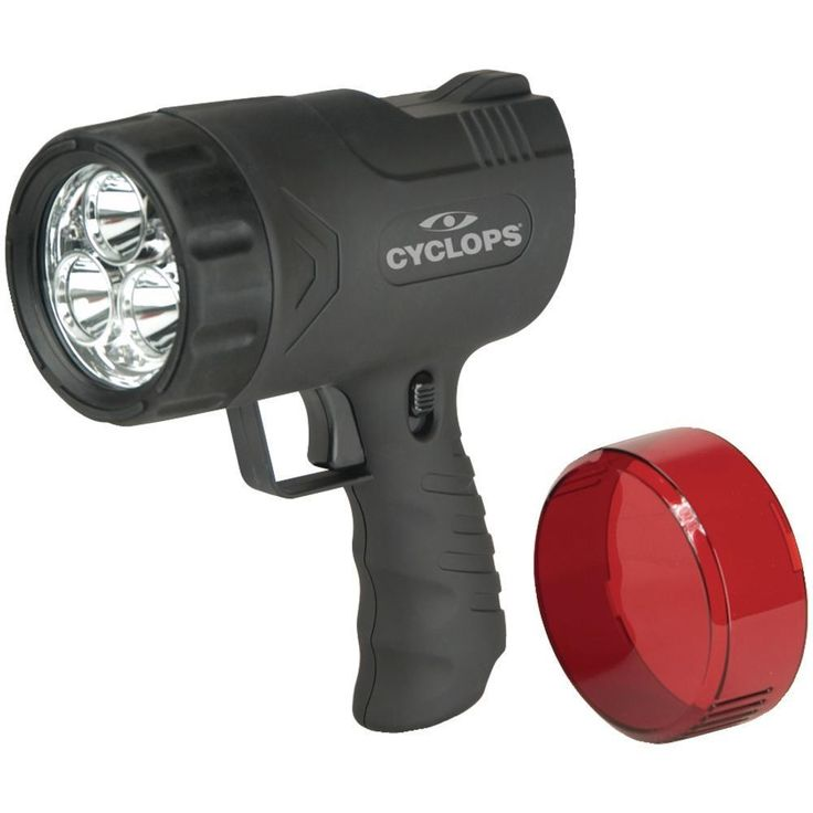 CYCLOPS CYC-9WS 300-Lumen Sirius Rechargeable Handheld Spotlight