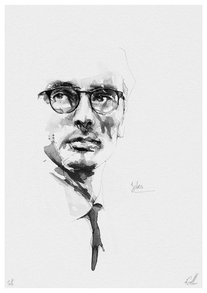 Christian Kolos Portraits Noir Et Blanc De Florian Nicolle Mit