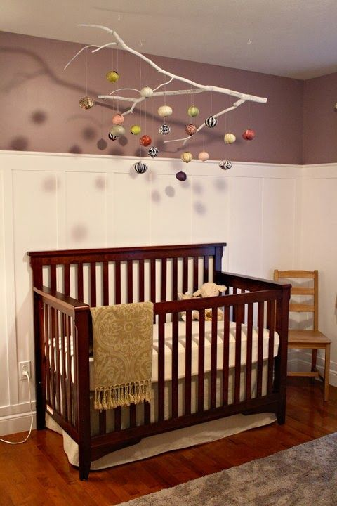 I would love something like this in Ruger's room with animals hanging down!