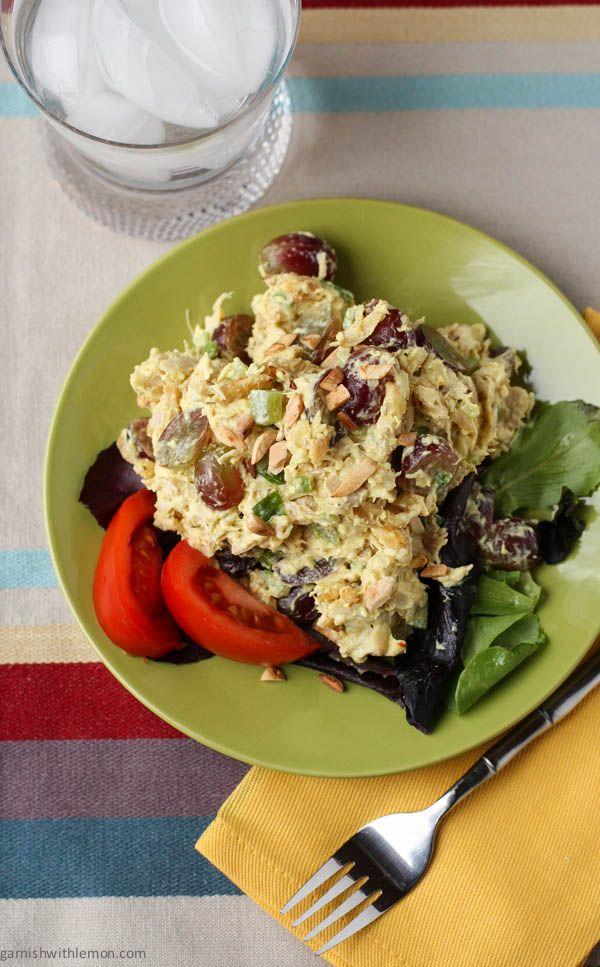 Curry rotisserie chicken salad recipe